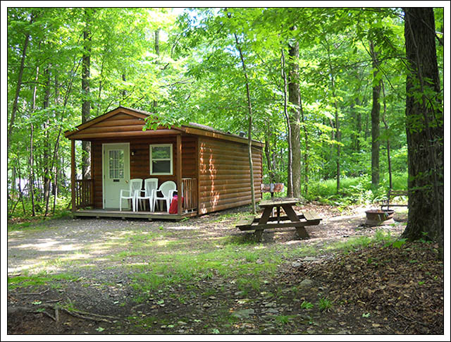 deluxe cabins tanglewood camping